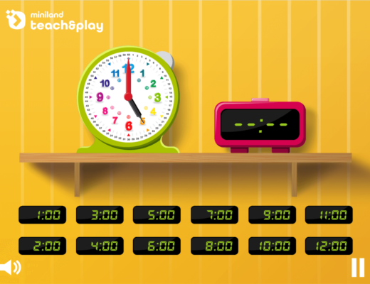Bingo de las horas