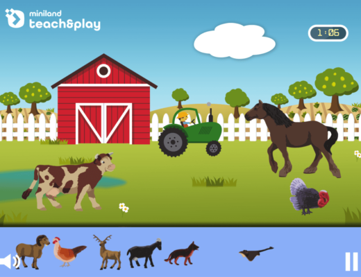 Which animals live on the farm?