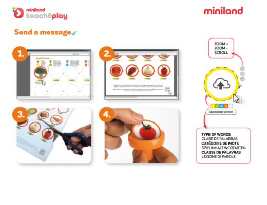 Invia uno strumento di messaggio