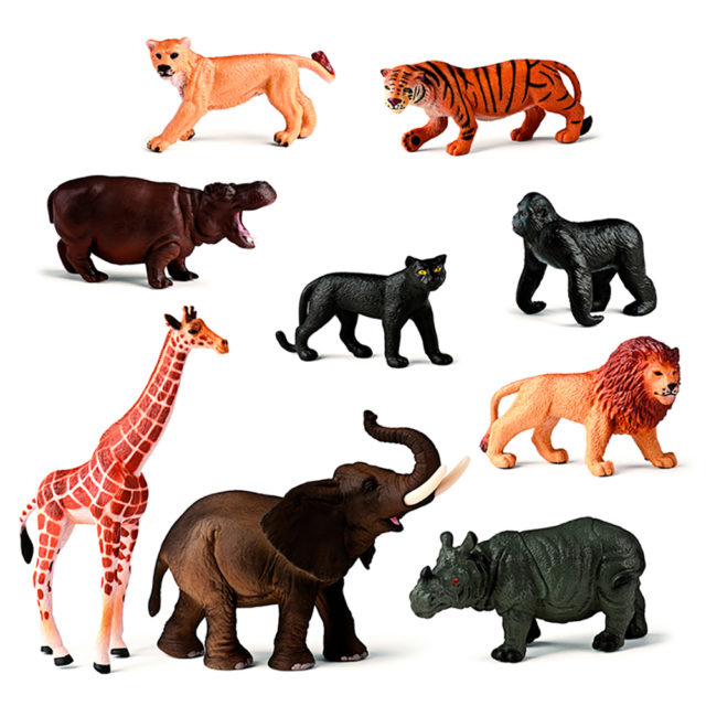 WILD ANIMALS 9 UTS