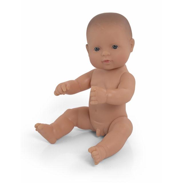 BABY DOLL CAUCASIAN BOY 32CM