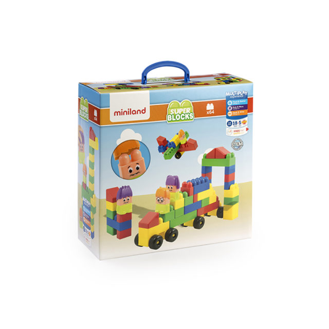 SUPER BLOCKS 64 PCS