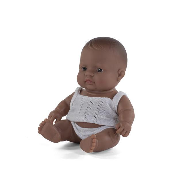 BABY DOLL HISPANIC BOY 21CM