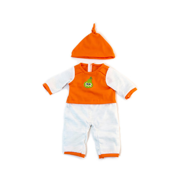 COLD WEATHER ORANGE PJS 38CM