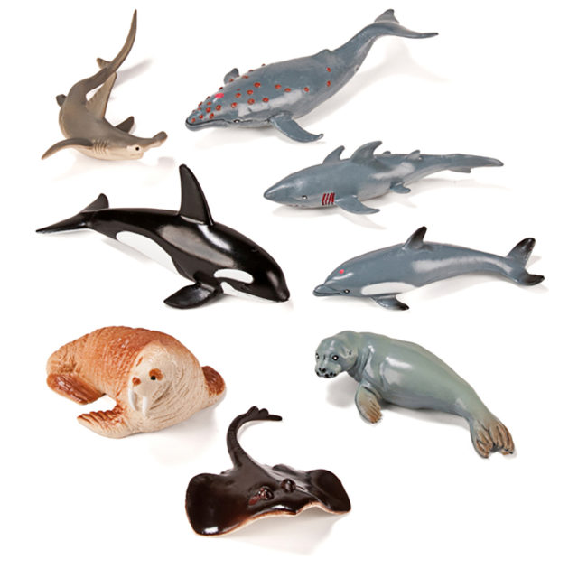 SEA ANIMALS 8 UTS