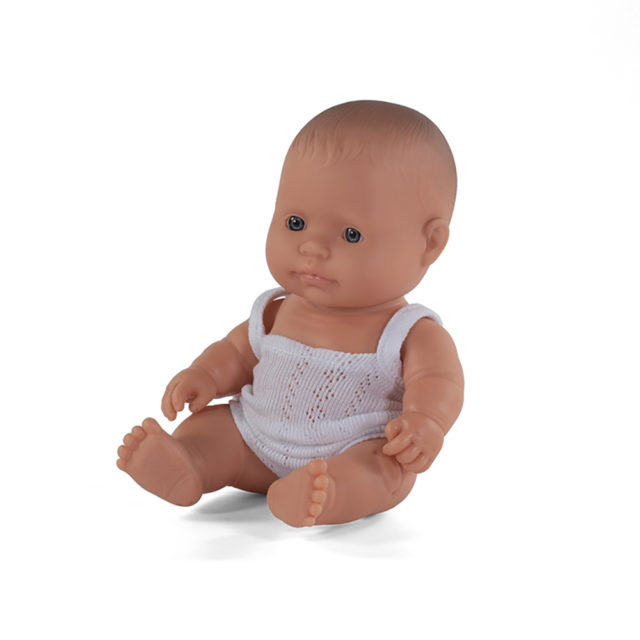 BABY DOLL CAUCASIAN GIRL 21CM