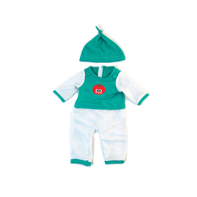 COLD WEATHER GREEN PJS 38CM