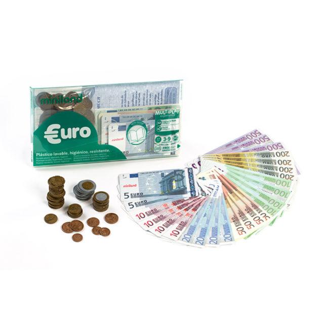 SET EURO:28 NOTES + 80 COINS