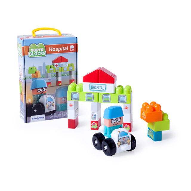 SUPER BLOCKS HOSPITAL 21 PCS