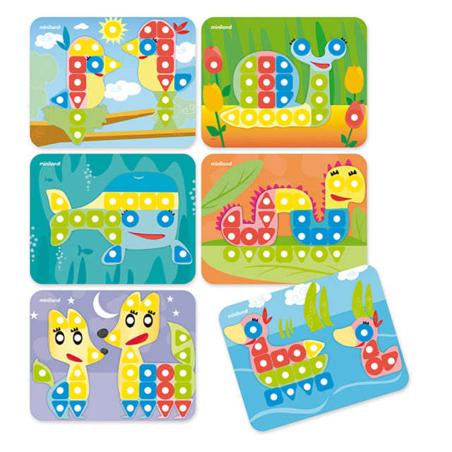 SUPERPEGS: PACK 6 SHEETS