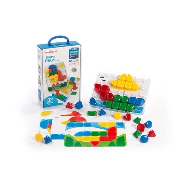 SUPERPEGS MINI 32 PCS.PRIMARY