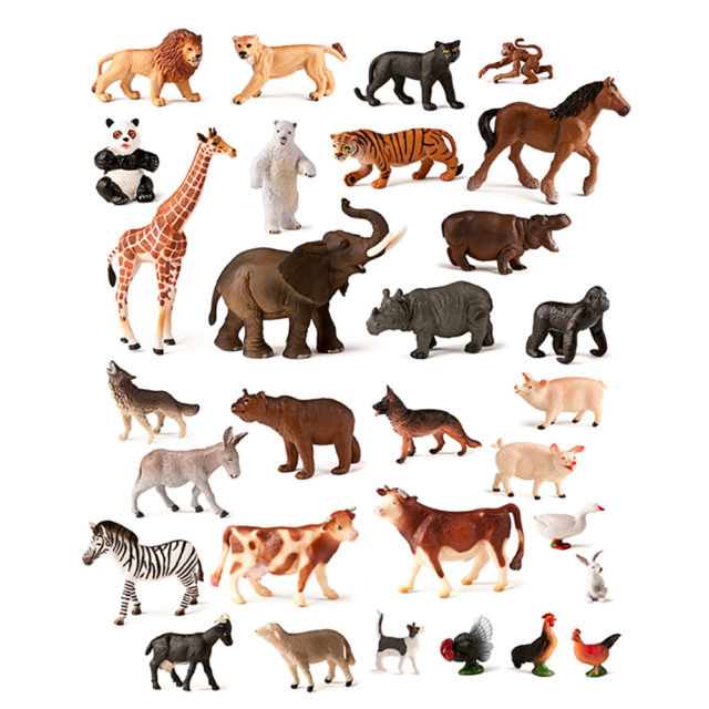 WILD AND FARM ANIMALS 30 UTS