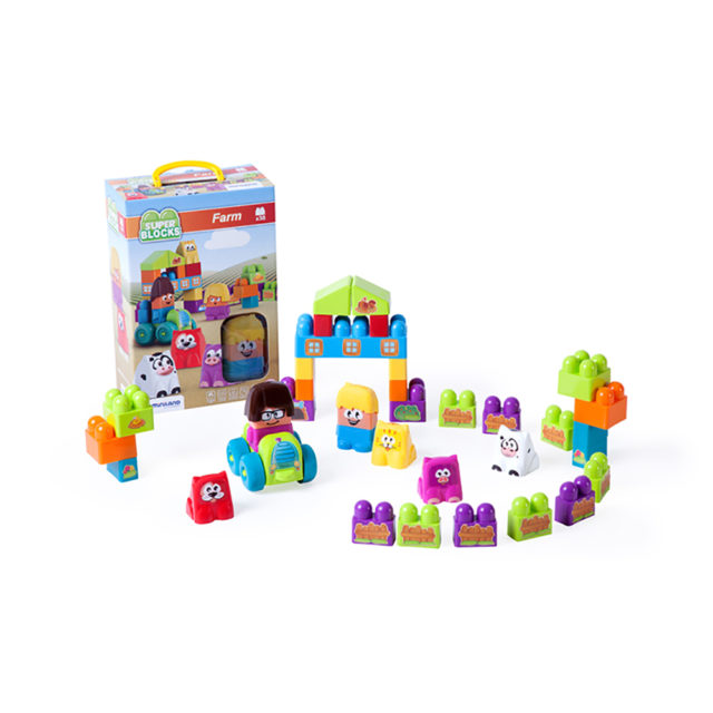 SUPER BLOCKS FARM 38 PCS