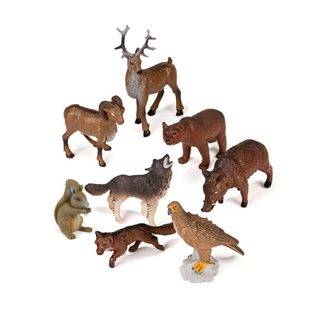FOREST ANIMALS 8 UTS