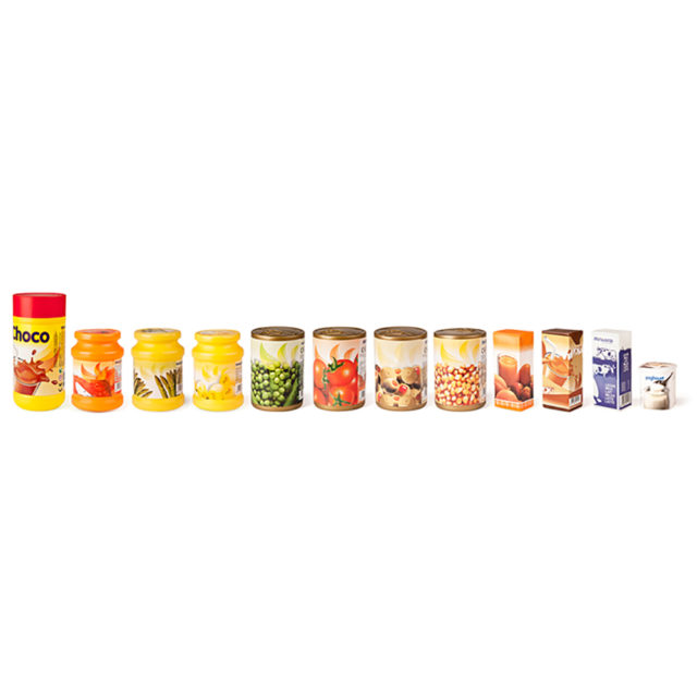 PACKED FOOD ASSORTMENT 12PCS