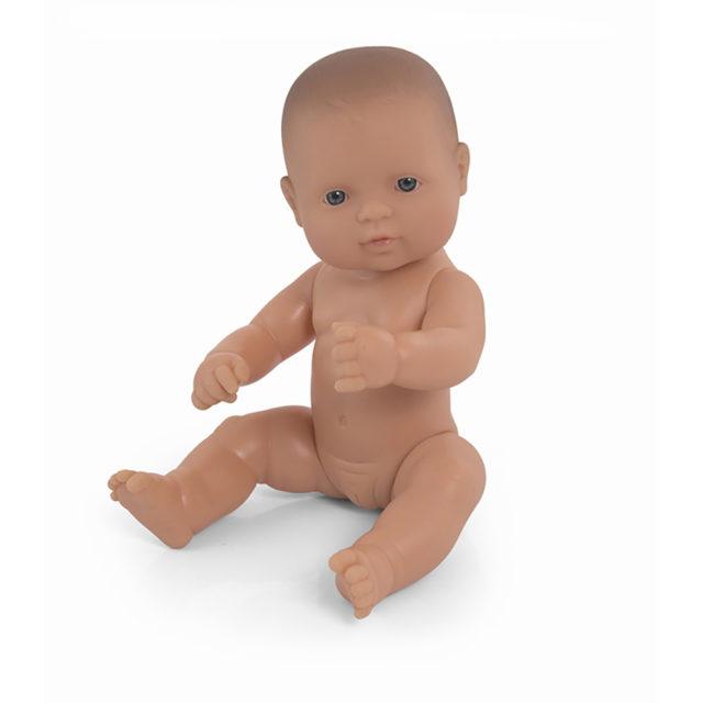 BABY DOLL CAUCASIAN GIRL 32CM