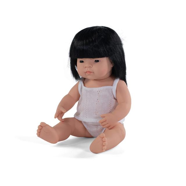 BABY DOLL ASIAN GIRL 38 CM
