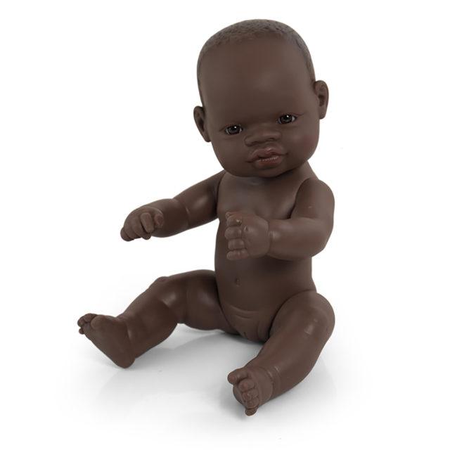 BABY AFRICANO NIÑA 32 CM