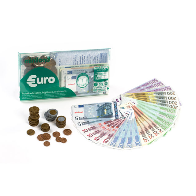 SET EURO:28 NOTES + 80 COINS