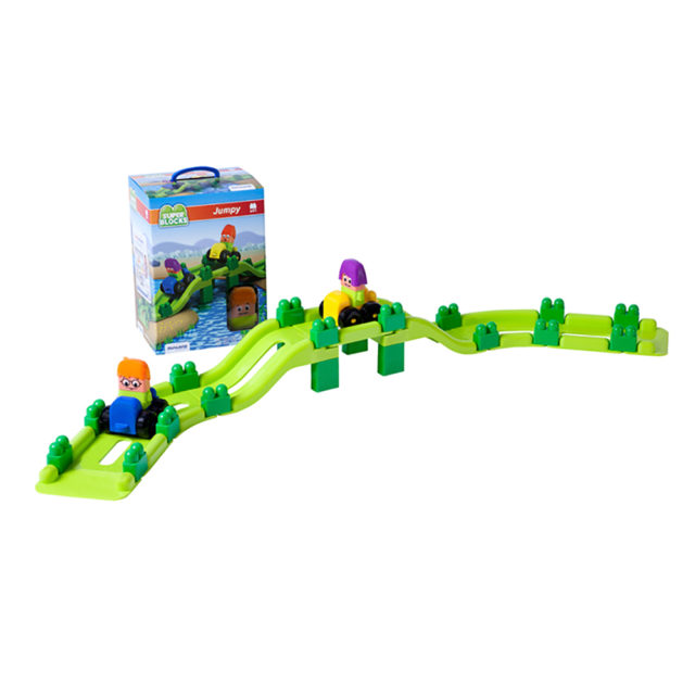 SUPER BLOCKS JUMPY 41 PCS