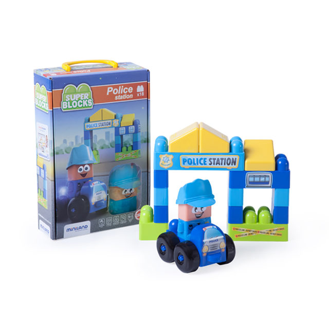 SUPER BLOCKS POLICE STATION18P