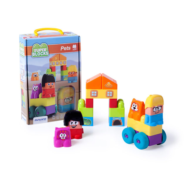 SUPER BLOCKS  PETS 20 PCS